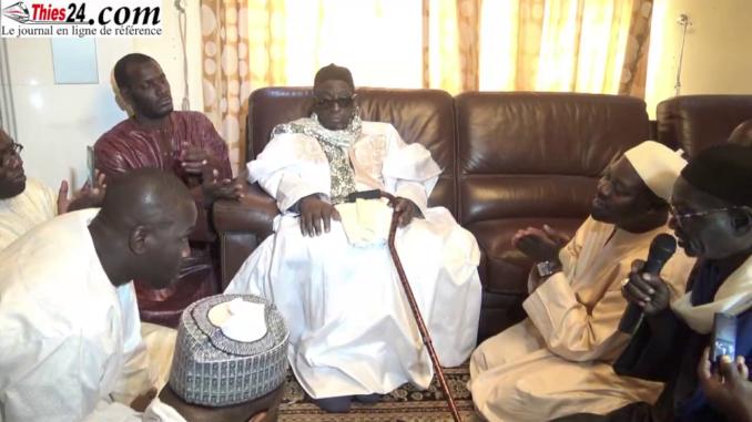 Vidéo/ Serigne Moustapha Sy Al Amine reçoit les condoléances